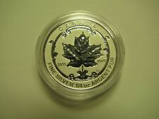2015 Reverse Proof $3 Incuse Sugar Maple SML from fractional set Canada 1/4oz .9
