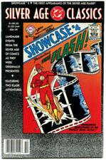 DC Silver Age Classics Showcase FNVF 7.0 DC 1992 Reprints 1st Silver Age Flash A