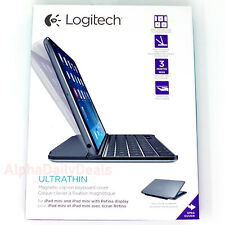 Logitech Ultrathin Magnetic Bluetooth Clipon Keyboard Cover for iPad Mini 1 2 3