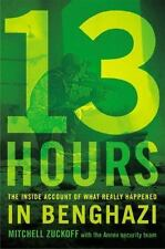 13 Hours: The Inside Account of What Really Happened In Benghazi  (Hardcover VG