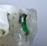521 Gm Full Terminated Top Quality Swat Emerald Crystals On Matrix@Pakistan