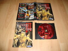 THE HOUSE OF THE DEAD 3 III DE SEGA PARA PC MANUAL EN CASTELLANO USADO COMPLETO