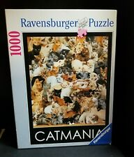 Ravensburger Puzzle Catmania 1000 Piece Jigsaw Vintage