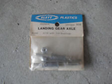 Vintage R/C Part Klett Plastics Landing Gear Axle 3/16 w Bearing 305 NIP