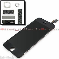 LCD DISPLAY APPLE IPHONE 5S NERO TOUCH SCREEN