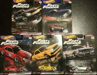 Hot Wheels Fast & Furious Fast Rewind Lot de 5 (N44)