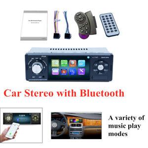 Large Screen Car Stereo Bluetooth Single Din FM Radio MP5 Player Hands Rear vVew