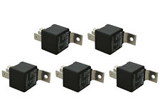 5 Lot Temco Industrial 12 V 60/80 Amp Bosch Style S Relay Spdt Automotive