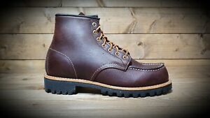 RED WING // 8146 Roughneck Moc Toe Brown Boots // REDUCED Was £269.00
