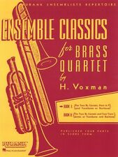 Ensemble Classics for Brass Quartet Book 1 Sheet Music for Two Cornets 004475329