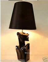 New Modern Style Black Iron Height 65CM Desk Light Bedside Lighting Table Lamp