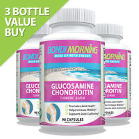Glucosamine Chondroitin Dietary Supplement - With Turmeric & MSM.