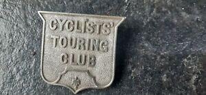 "Very fine ""Cyclists Touring club"" badge circa 1884."