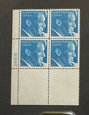 US Stamps, Scott #1770 15c 1978 Plate Block of 'Bobby Kennedy' XF/S M/NH