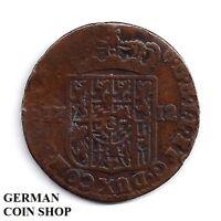 Spanish Netherlands (Namur) Maximilian Emanuel of Bavaria 1 Liard 1712