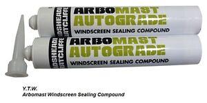 ARBOMAST AUTOGRADE Windscreen Flexible Sealant Glass to Body  Black 380ml x1