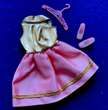Vintage Barbie Glamour Group Gold Lame Dress PRISTINE No Play!!