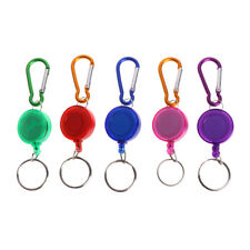 Fly Fishing Tool Zinger Retractor Retractable Reel Holder Key Chain Nylon Cord