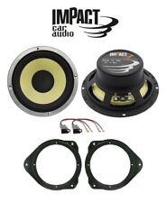 IMPACT Kit 2 casse per AUDI A1 2013> con ADATTATORI E SUPPORTI > ANTERIORI 180W