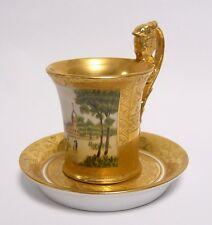 Porcellana caffè o tazza con sotto tazza tazza altezza: 11,5 cm