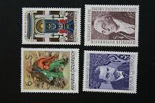 AUTRICHE timbre - Yvert et Tellier n°1366 eà 1369 n** stamp Austria (cyn5)