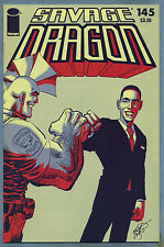 Savage Dragon #145 2009 Barack Obama Fist Bump Variant Image Comics g