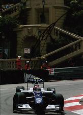 Kazuki Nakajima mano firmado AT&T Williams F1 Foto 7x5 15.