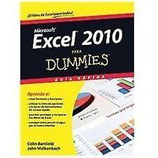 Excel 2010 para dummies (Spanish Edition) by Banfield, Colin, Walkenbach, John
