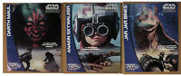 """Star Wars/Pepsi Phantom Menace Promo 18""""x24"""" Poster Set of 3 from Chile- ROLLED!"""