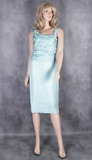 Designer NUEVA Green Dress Size 10 Mother of the Bride Evening Wedding Party