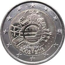2 EURO COMMEMORATIVO BELGIO 2012 10° Anniversario