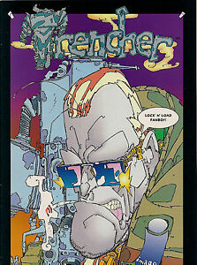 Trencher, #2, June 1993, First Printing