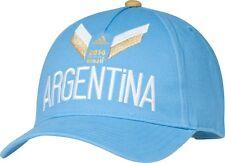 ARGENTINA 2014 WORLD CUP SOCCER FUTBOL ADIDAS ADJUSTABLE HAT NEW & LICENSED