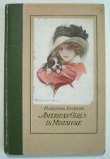 1912 Harrison Fisher's American Girls in Miniature