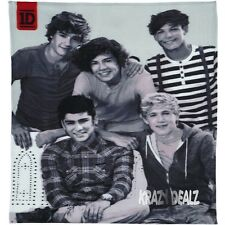 Official One Direction 1D Crush Fleece Blanket Bed Throw