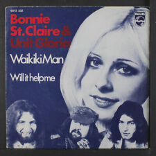 BONNIE ST. CLAIRE & UNIT GLORIA: Waikiki Man / Will It Help Me 45 (Netherlands,