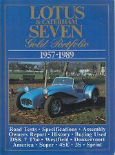 LOTUS CATERHAM WESTFIELD DSK DONKERVOORT SEVEN 7 1957-89 PERIOD ROAD TESTS BOOK
