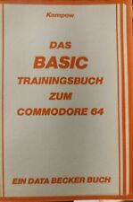 Kampow Das BASIC Trainingsbuch zum Commodore 64 Data Becker c64 vg condition