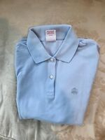 Brooks Brothers Womens Blue Performance Shortsleeve Polo Shirt (RY) SZ XS