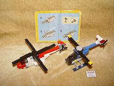 LEGO Sets: 4918-1 Mini Flyers (2007) 100% & 5864-1 Mini Helicopter (2010) 100%