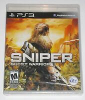Sony PlayStation 3 Video Game - Sniper: Ghost Warrior (New)