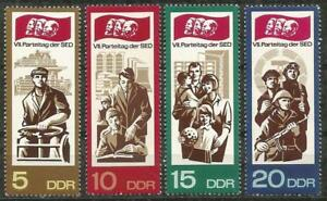Germany (East) DDR GDR 1967 MNH - SED Socialist Party Rally (II)