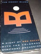 Night at Red Rocks Colorado Symphony The Moody Blues VHS