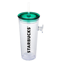 Starbucks Korea 2020 Green Pop Handle Cold Cup Tumbler 473ml / 16oz
