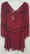 Bongo Womens Plus BlackBerry Purple Formal Dress -Size 3X - NWT