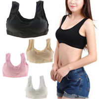 Goody Sexy Cozy Seamless Sports Leisure Boob Tube Top Bra Support Vest Nude Yoga
