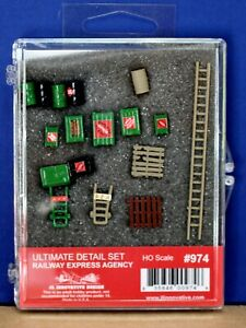 JL Innovative Design 974 HO 1:87 Railway Express Agency Ultimate Detail Set NIB