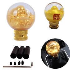 Universal Gold Buddha resin Schaltknüppel Schaltknauf Schaltmanschette gear Knob
