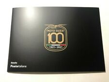 2021 Folder Centenario Moto Guzzi  con 2 Cartoline Edizione Limitata 2800
