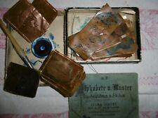 Kupfer-16 Wäscheschablonen-Wäschezeichnen+Stickerei-Heft+Zubehör